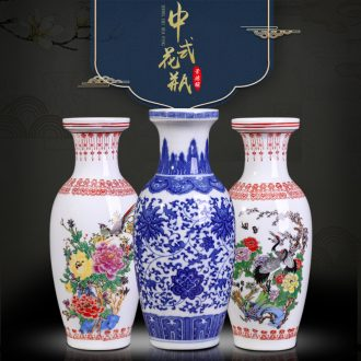 Jingdezhen ceramics vase archaize cordierite porcelain vase flower vase archaize do old vase decoration as furnishing articles