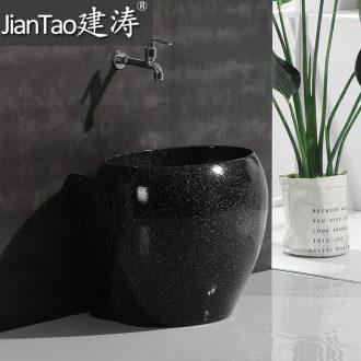 Mop pool pool of household toilet washing sink mop mop pool terrace pool ceramic mop basin