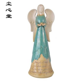 Dust heart treasure ceramic glaze Notre Dame furnishing articles angel Cupid Christian church Jesus