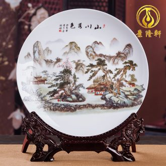 Jingdezhen ceramics wine ark adornment is placed small place office handicraft decoration household act the role ofing is tasted the living room