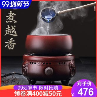 Cloud cloud boiling tea ware ceramic black electric teapot tea stove cooking health tea tea pot of warm tea machine electricity TaoLu