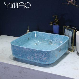 Million birds European ceramic lavabo stage basin art basin sink toilet lavatory basin restoring ancient ways
