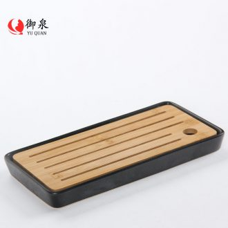 Imperial springs contracted water small tea tray ceramic dry tea home bamboo kung fu tea tray