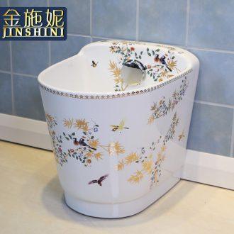 Gold cellnique ceramic wash mop pool mop pool balcony mop pool mop basin bathroom mop bucket rural wind