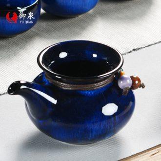 Imperial springs of jun porcelain kiln ceramic fair mug points of tea ware kung fu tea set accessories pour tea cups