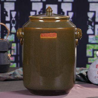 Jingdezhen ceramic tea pot at the end of the day type coarse pottery tea pot store receives a clay-pot large porcelain POTS