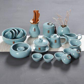 Hong bo acura on elder brother kiln your kiln ceramic kung fu tea tea set the whole suit tureen cup teapot