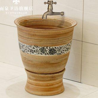 Spring rain jingdezhen ceramic mop pool art basin mop pool mop mop mop mop bucket