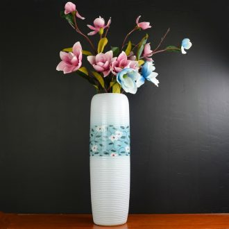 Jingdezhen ceramic vase furnishing articles dry flower arranging flowers large landing household adornment of contemporary sitting room simulation flower suits