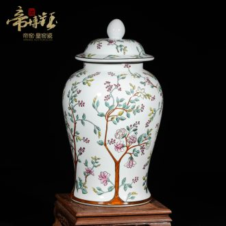 Modern Chinese jingdezhen ceramics high-grade hand-painted water tank general furnishing articles town house villa decorates sitting room