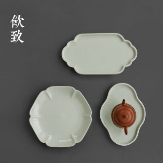 Drink to the secret 12 water dry foam plate machine archaize ceramic glaze pot pot of Japanese kung fu tea set a pot of tea tray