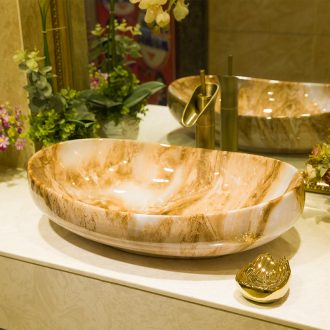 M beauty increase stage basin ceramic toilet lavabo that defend bath lavatory basin art wing texture