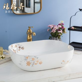 Koh larn, qi stage basin sink lavatory ceramic european-style bathroom art basin of the basin that wash a face