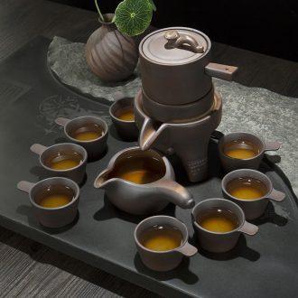 Ronkin firewood half automatic make tea tea set lazy atone creative ceramic teapot tea cup set