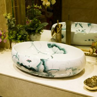 M beauty increase stage basin ceramic toilet lavabo that defend bath lavatory basin lotus in TY721
