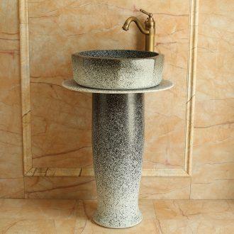 Jingdezhen ceramic art basin of the balcony the post household basin floor type lavatory toilet lavabo