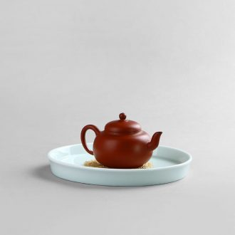 Drink to shadow green CiHu bearing dry plate round ceramic pot of water dry bubble machine manual a pot tray of tea accessories