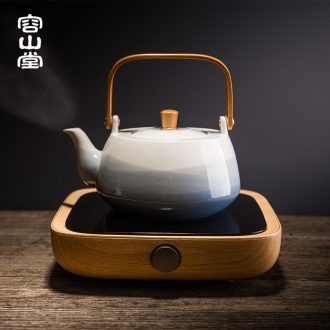 RongShan hall be precious little time three electric TaoLu boiled tea, tea stove teapot ceramic kettle household kung fu tea set size