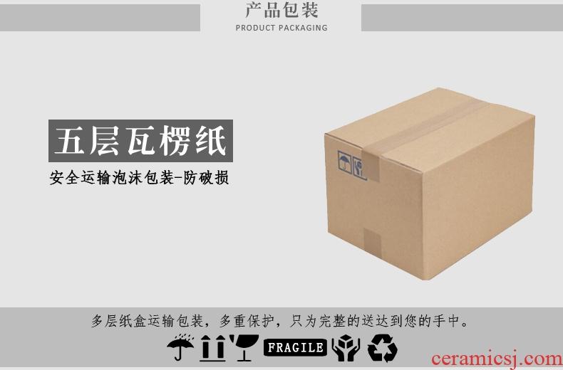 In tang dynasty ceramic tea six gentleman's suit ebony wood spoon ChaGa kung fu tea tea tea tea accessories