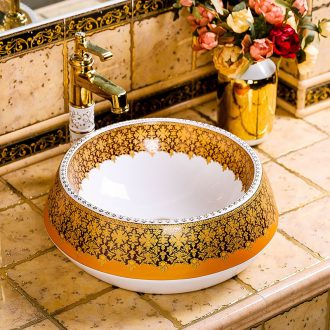 Basin round home American Basin creative arts contracted toilet lavatory Basin sink on ceramics