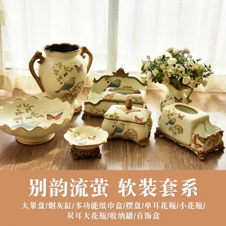 Murphy American ceramic restoring ancient ways furnishing articles European rural example room sitting room ark, household soft adornment series