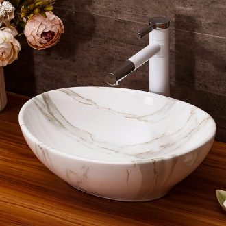 The stage basin sink bathroom home wash basin hotel small basin suit art ceramic wash basin