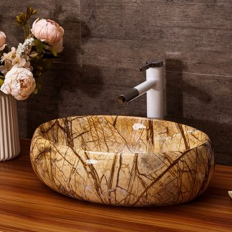 Ceramic lavabo household washing basin hotel toilet basin suit art stage basin basin water suit