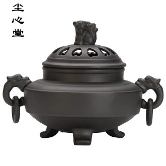 Dust heart electronic censer heavy incense burner can timing tempering aroma stove ceramic plug incense burner smoked incense burner