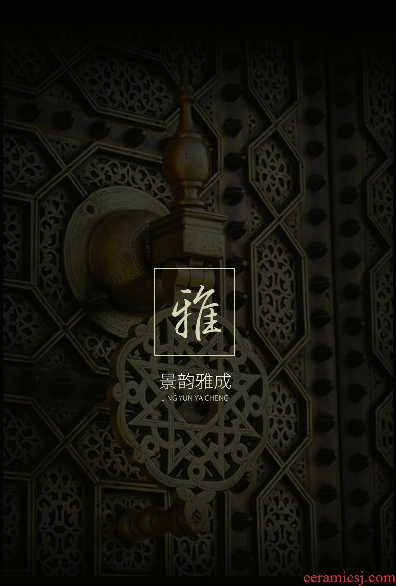 Jingdezhen ceramics, the ancient philosophers figure creative archaize large storage tank vases, flower arrangement sitting room adornment furnishing articles - 520778756970