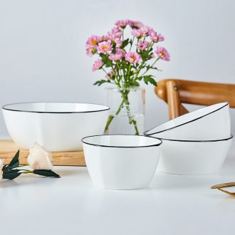 Ipads China square bowl of Japanese creative household ceramic bowl bowl of small bowl of rice bowl rainbow such as bowl bowl northern wind tableware