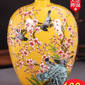 The Master of jingdezhen hand - made ceramics vase furnishing articles new Chinese wine TV ark, sitting room adornment ornament