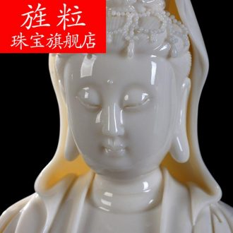 Bm ceramic handicraft sitting room place to occupy the xiangyun household avalokitesvara figure of Buddha goddess of mercy