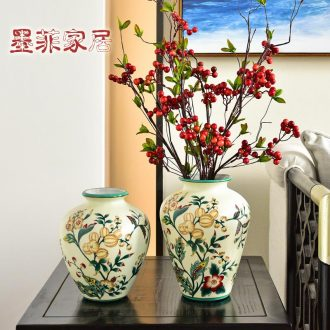 Murphy American rural household made ceramic vases, flower arranging is the sitting room porch decorate the table soft furnishing articles