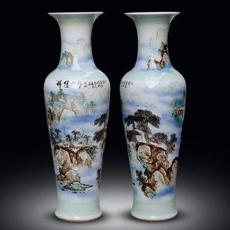 Jingdezhen ceramics living room of large vase hand - made splendid sunvo hotel decoration large furnishing articles