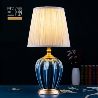 American desk lamp ceramic decoration art designer I cooper and contracted sitting room atmosphere all the head of a bed bedroom lamps and lanterns