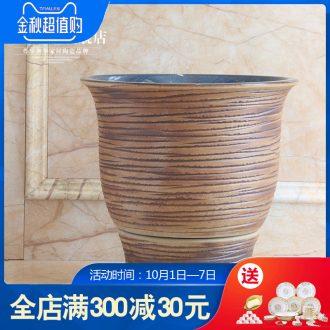 Jingdezhen ceramic mop pool balcony mop sink basin bathroom art mop mop pool wash mop pool of the ancients