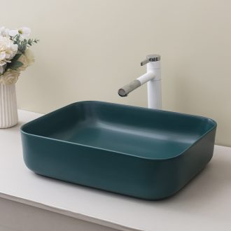 The stage basin balcony lavatory Nordic contracted household ceramic toilet lavabo basin marca green dragon