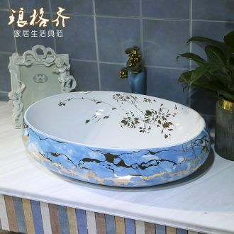On the ceramic bowl square continental basin oval sink the lavatory toilet household sink On stage