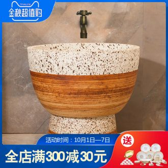Mop pool balcony mop pool Chinese ceramic art basin of mop mop pool toilet archaize mop pool
