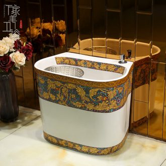 M the jingdezhen ceramic mop pool large balcony mop pool mop pool toilet wash mop pool mop basin
