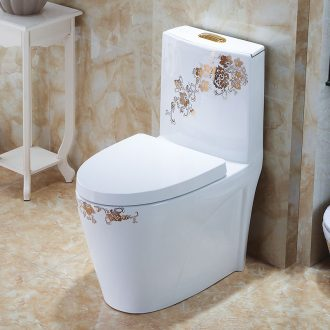 Koh larn, qi siphon American art ordinary household ceramic toilet implement european-style luxury adult pumping