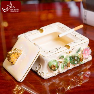 Europe type restoring ancient ways with cover the ashtray creative furnishing articles home sitting room dining-room study personality ceramic tea table decorations
