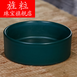 Continuous grain of jingdezhen ceramic creative furnishing articles writing brush washer from household act the role ofing is tasted archaize ceramic decoration arts and crafts