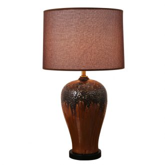 Light the luxury of American ceramic lamp light warm idea of bedroom the head of a bed contracted and contemporary home sitting room hall adjustable light