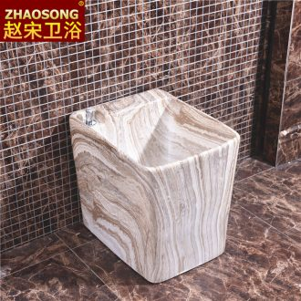 European household ceramics restoring ancient ways conjoined mini basin of mop mop pool balcony floor mop pool small 35 cm