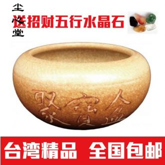 Dust heart creative gifts crafts ceramics cornucopia furnishing articles feng shui plutus contracted and I version into the ritual