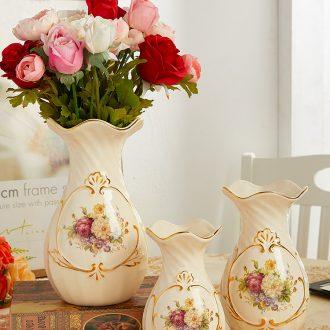 Light key-2 luxury floret bottle ceramic wine accessories furnishing articles sitting room arranging flowers all over the sky star TV ark, dried flower vase