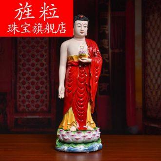 Bm ceramic household between general Mr Amitabha Buddha guanyin Buddha worship that occupy the home furnishing articles western three st
