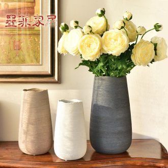 Murphy north European I and contracted ceramic flower arranging hydroponic vase creative dried flowers sitting room adornment is placed