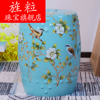 Continuous grain of jingdezhen ceramics who in shoes who elephants in who dress and make up a chair who